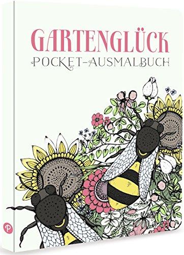 Gartenglück - Pocket-Ausmalbuch (Delphin-malbuch)