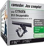 Rameder Attelage rotule démontable pour CITROËN DS3 Décapotable + Faisceau 13...