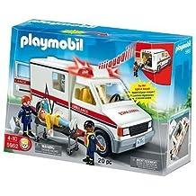 Playmobil - Juego de Ambulancia De Urgencias, Exclusivo Usa (5952)