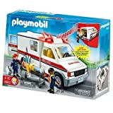 Playmobil Rescue Ambulance Playset - 5952 toy gift idea birthday by Playmobil Rescue Ambulance Playset - 5952 toy gift