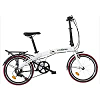 ecosmo 50,8cm alliage léger pliable Vélo de ville vélo, 12kg–20af09W