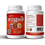 Rose Musquée (Fruit de l'Églantier) comprimés pour l'arthrite - Riche en vitamine C - Médicaments à base de plantes...
