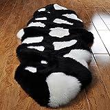 KELE Plumón manta sala de estar sofá cama dormitorio frente alfombra pasillo -A 75x210cm(30x83inch)