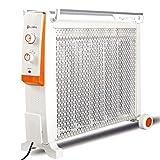 Heater GJM Shop Riscaldatore Lontano Infrarosso 2200W Pellicola Riscaldante Elettrica In Fibra Di Carbonio A 5 Cristalli Di Carbonio Protezione Da Ribaltamento Stufa Elettrica