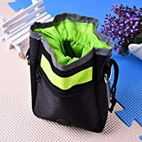 Veena Hot Sale Dog Mini Travel Garbage Bag And Snack Bags Waste Bag Scoop For Garbage Bags For Cat Dog Green
