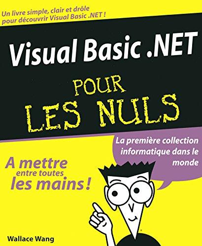 Visual Basic.net pour les nuls