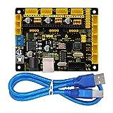 keyestudio Grbl CNC Controller Board, DIY CNC Grbl V0.9 Mikrocontroller für Laser Schere, automatische Hand Schriftsteller, Loch aufzubohren, Graffiti Maler und der Zeichnen Maschinen