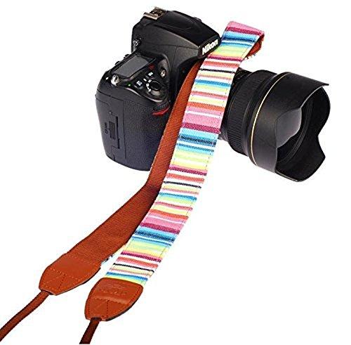 Cla correa para cámara de fotos con S-XXL el hombro correa de cuello correa ajustable de neopreno para DSLR Canon Fuji Fujifilm Leica Nikon Pentax Olympus Sony Panasonic Pentax Samsung Sigma–adaptout marca francesa