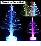 Mini LED Weihnachtsbaum Farbwechsel Tannenbaum Geschmückt Versand aus DE 24h Geschmückt