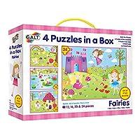 Galt Toys Fairies 4 Puzzles in a Box