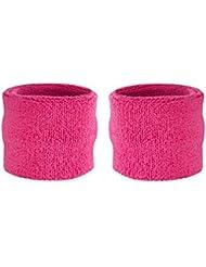 Suddora Schweißbänder, für das Handgelenk, für Kinder, Baumwolle, Frottee, für Sport, 1 Paar