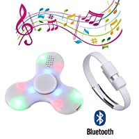 CRYSLE Hand Spinner Toy with Wireless Bluetooth speaker