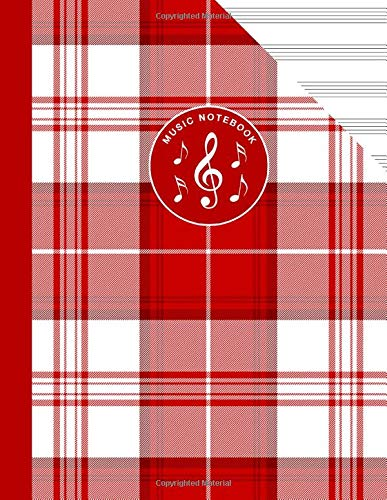 Scottish Tartan Music Manuscript Notebook Clan Menzies: Blank Sheet Music Paper For Celtic Musician, Orchestra, Band, Fiddle Camp, Session Tunes -