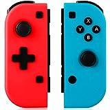 GEEMEE Controller Wireless per Nintendo Switch, Joystick Gamepad Bluetooth Sostituzione per JoyCon,Doppio Shock…