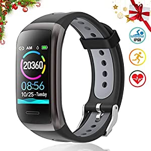 TagoBee TB14 Pulsera Actividad Fitness Trackers IP68 Waterproof Smart Band 1.14'' LCD Color Screen Sport Smart Brazalete… 3