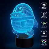 Nette Pinguin-Illusion-Licht-LED-Nachtlichter, FZAI-Neuheit-Noten-Tabellen-Schreibtisch-Lampen-Ausgangsdekoration 7 Farben-einzigartige Beleuchtungseffekte für fantastisches Geschenk der Kinder