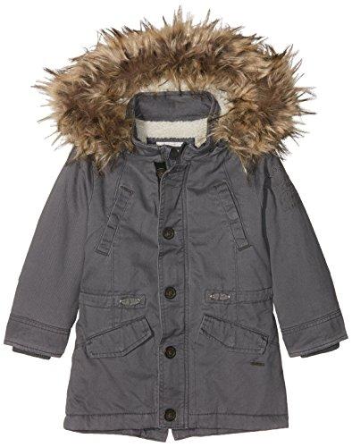 Pepe Jeans Jungen Mantel Pb400620, Grau (Graphite), 8 Jahre (Herstellergröße: - 8 Winter Mantel Jungen