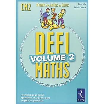 Défi Maths : Volume 2, Fiches à photocopier