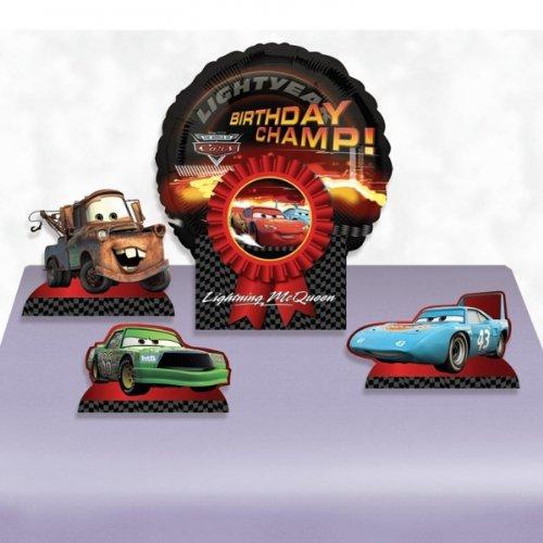 Ensemble de pièces de décoration de table gonflables anniversaire Disney Cars