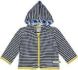loud + proud Unisex Baby Jacke Fleece, Blau (Midnight/Natural Mi/Na), 92 (Herstellergröße: 86/92)