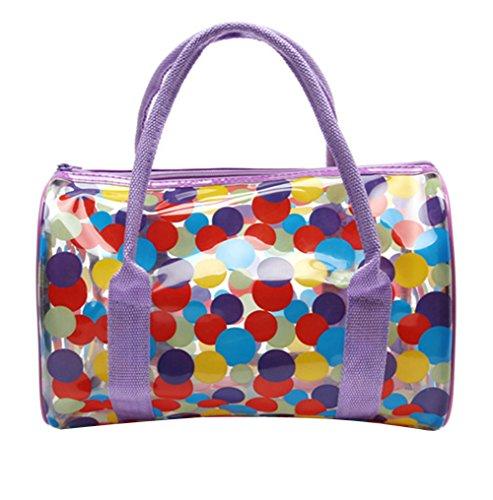 Kuke Frauen Verschiedene Muster gedruckt beiläufiger Schulter Tote Frühlings Sommer Strand Tasche Reisen Top Griff Tasche Multi Color