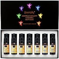 Chakra-Set - Ätherische Öle im Aprikosenkernöl. Für Yoga, Meditation oder Aromatherapie. Für Aroma Diffuser, Räucherstäbchen... preisvergleich bei billige-tabletten.eu