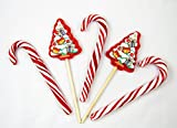Piruletas Caramelos Surtidos de Navidad - Tarrina 6 unidades