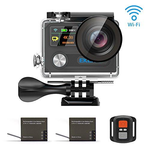 EKEN H8R Wifi 4K30fps 1080p 60fps Control remoto + Selfie...