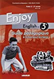 Enjoy English in 3e Palier 2, 2e année A2-B1 : Guide pédagogique et fiches pour la classe