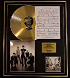 OASIS/CD GOLD DISC, SONG SHEET & PHOTO DISPLAY/LTD. EDITION/COA/ALBUM, (WHATS THE STORY) MORNING GLORY /SONG SHEET, WONDERWALL