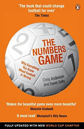 The numbers game why everything you know about football is wrong print list price fandeluxe Choice Image