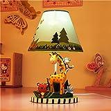 LHL-DD Schlafzimmer Nachttischlampe Kindertischlampe kreative Karikatur warmes Licht Netter Junge Geburtstags-Geschenk-Schreibtischlampe