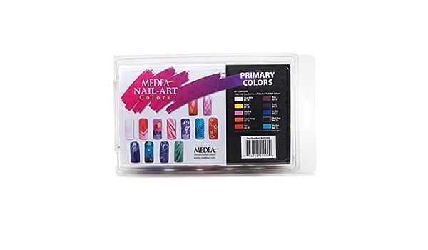 Medea Beauty Medea Nail Art Basic Ten Colour Set 10 X 30ml Nat