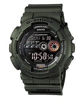 Casio G-Shock GD-100MS-3ER, Orologio da polso Uomo, Nero (Nero/Verde) (B004OYUNLY) | Amazon price tracker / tracking, Amazon price history charts, Amazon price watches, Amazon price drop alerts