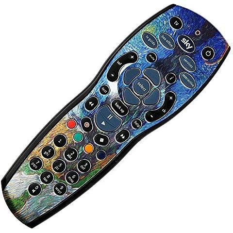 120 Collection, + Custom mando a distancia para Sky hd r42 de vinilo de fibra de carbono de vinilo adhesivo,  - Van Gogh - Country Road In Provence, Sky + hd r42