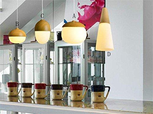 Nordic Studie Schlafzimmer Bett Kronleuchter Nüsse Pilze Modernes, Minimalistisches Restaurant Eingang Flur Kronleuchter Bar Kunst Kronleuchter (Stil: C)