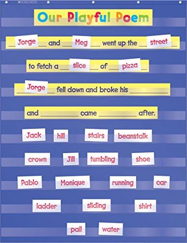 Standard Pocket Chart (Teacher's Friend) por Scholastic Inc.