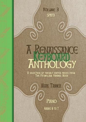 RENAISSANCE ANTHOLOGY A VOL 3   PIANO   BOOK