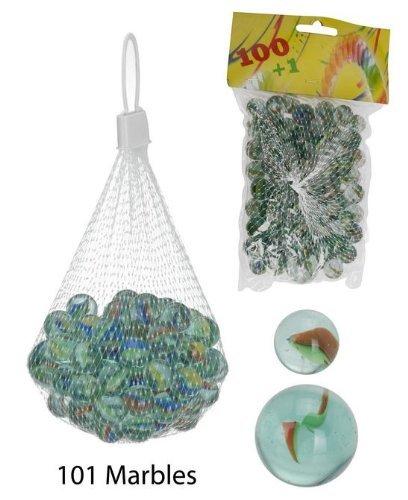 Glasmurmeln Murmeln 100 kleine und eine große Murmel im Netz