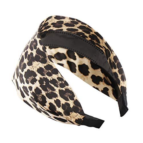 COZOCO LOPILY 2019 Neu Mode leopard gedruckt einfache haarband frauen haarkopf hoop mädchen haarband Schnell verkaufend (Beliebte 2019 Halloween-kostüme Neue)