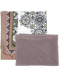 David & Young Women's Moroccan Tile Neckerchief and Kite Set