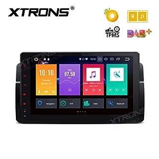 XTRONS 9 Zoll Touch Screen Autoradio Android 8.0 Octa-Core Autostereo unterstützt 3G 4G WiFi Bluetooth 4GB RAM 32GB ROM DAB OBD2 TPMS FÜR BMW Rover MG