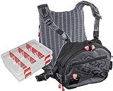 Fox Rage Voyager Tackle Vest, Angeltasche inkl. 2 Angelboxen / Tackleboxen, Anglertasche zum...