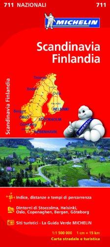 Scandinavia, Finlandia 1:1.500.000
