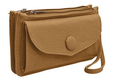 BFC- Buy For Change Women's Elegant Designer Solid Black Pu Handbag For Party And Casual