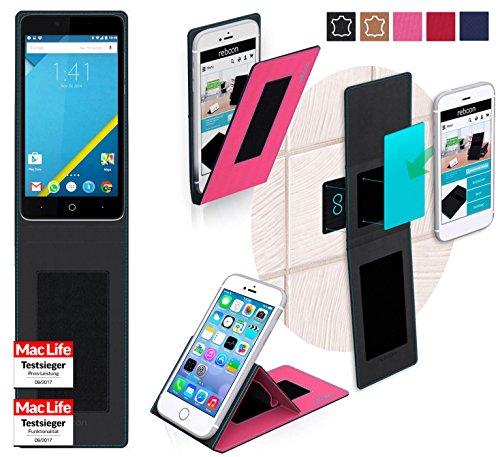 reboon Elephone P6000 Hülle Tasche Cover Case Bumper | Pink | Testsieger