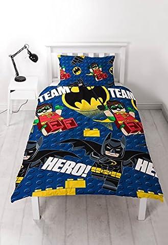 LEGO Batman Movie Hero Bettwäsche, Repeat Print