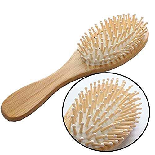 Cdet Natural bambú Anti-estática Madera Cepillo