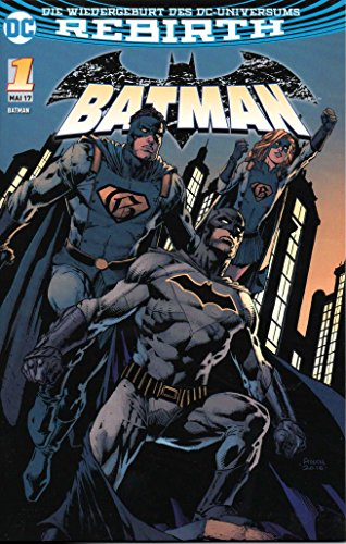 David Finch Cover (DC Comics BATMAN Comic (Rebirth-Reihe) # 1: Ich bin GOTHAM - Variant-Cover A)