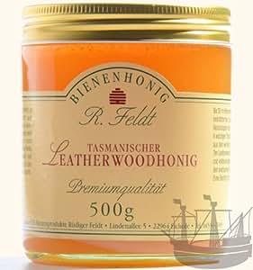 Leatherwood Honig, Hocharomatisch, exotisch-blumige Geschmacksnote, 500g